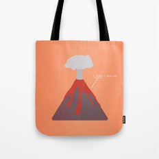 I Think I Lava You Tote Bag