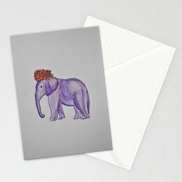 stylish elephant Stationery Cards