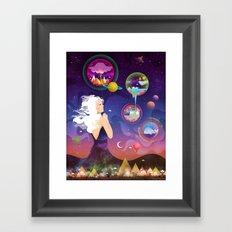 Wonderworlds Framed Art Print