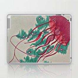 Colorful Jellyfish Laptop & iPad Skin