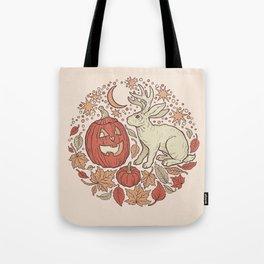 Halloween Friends | Autumn Palette Tote Bag