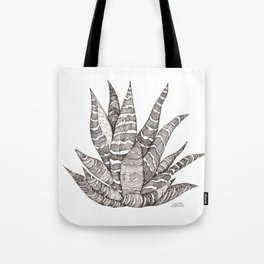 Succulent love- Haworthia Tote Bag