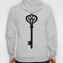 Old Black Brass Keys Pattern Hoody