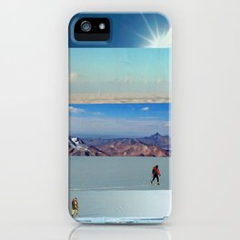 Collage - Into the Blue iPhone Case