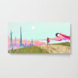 Lone Adventurer Metal Print