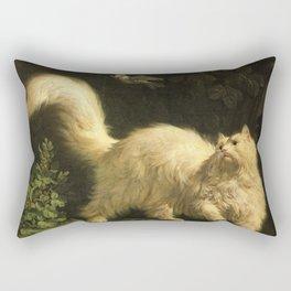 Cat in the art -Bachelier – Angora - detail Rectangular Pillow