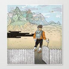 Backyard Adventure Canvas Print