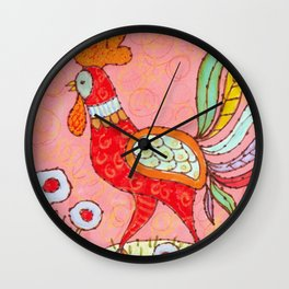 King of the Roost Wall Clock