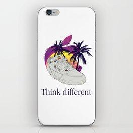 Apple vaporwave iPhone Skin