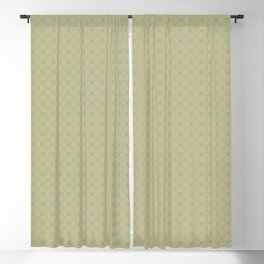 Sweet Pea Green on Earthy Green Parable to 2020 Color of the Year Back to Nature Polka Dot Grid Blackout Curtain