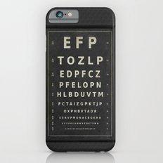 Eye Chart iPhone 6s Slim Case