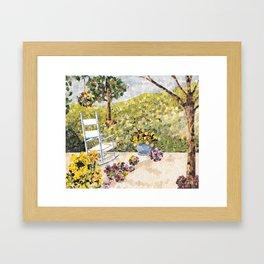"""My Front Porch"" Framed Art Print"