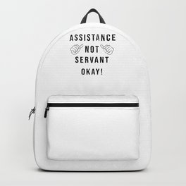 Social Work Assistance Curative Education Nurse Backpack