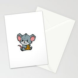 Cute Little Mouse Rat Animal Gift Idea Stationery Cards