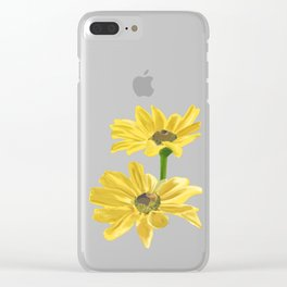 Black-Eyed Susan Clear iPhone Case