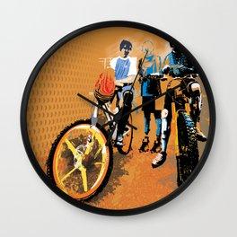 3 musketeers Wall Clock