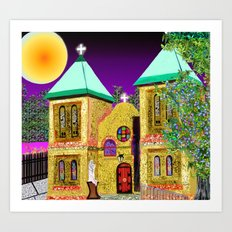 old mesilla church Art Print