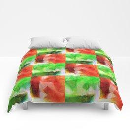 Apple Chequers Comforters