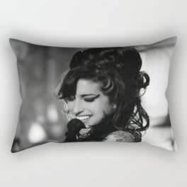 Amy Wine-house Music Poster Singer Star Pop Poster Woman Custom Art Wall Canvas Pictures For Living Room Home Decor (No Frame) Rectangular Pillow