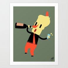 Clive (Alt) Art Print