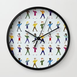 Dance like an egyptian Wall Clock