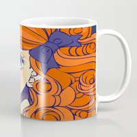 chic Mugs featuring Chic by Victoria Rivero