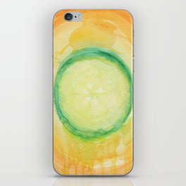 A piece of cucumber iPhone Skin