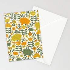 Autumn Hedgehog Forest Stationery Cards