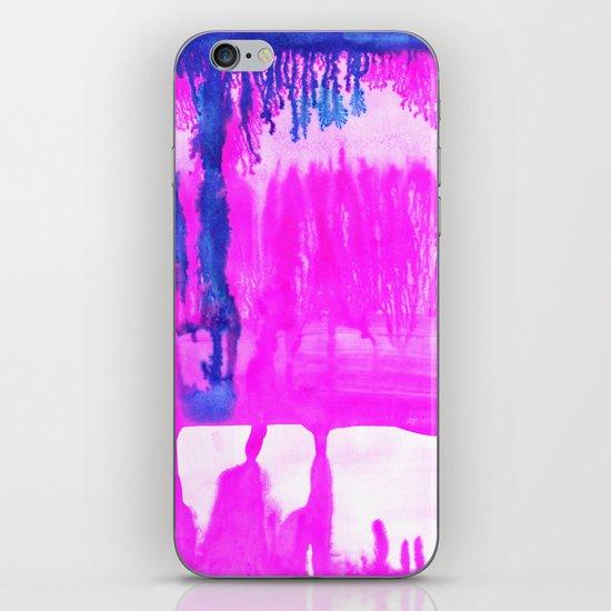 Dip Dye Hot Pink iPhone Skin