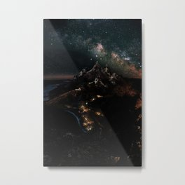Velaris, City of Starlight, Night Court, A Court of Thorns and Roses Metal Print