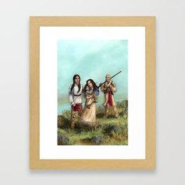 The Cherokee Years Framed Art Print