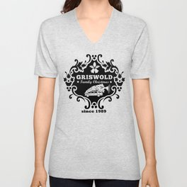 """The Legendary Griswold Family Since 1989 Design A """"The Car"""" Unisex V-Neck"""