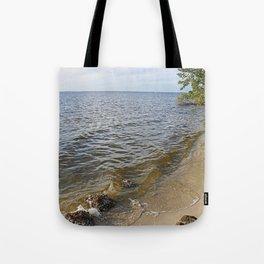 Gathering at the River I Tote Bag