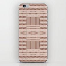 Beige Windows Abstract iPhone & iPod Skin