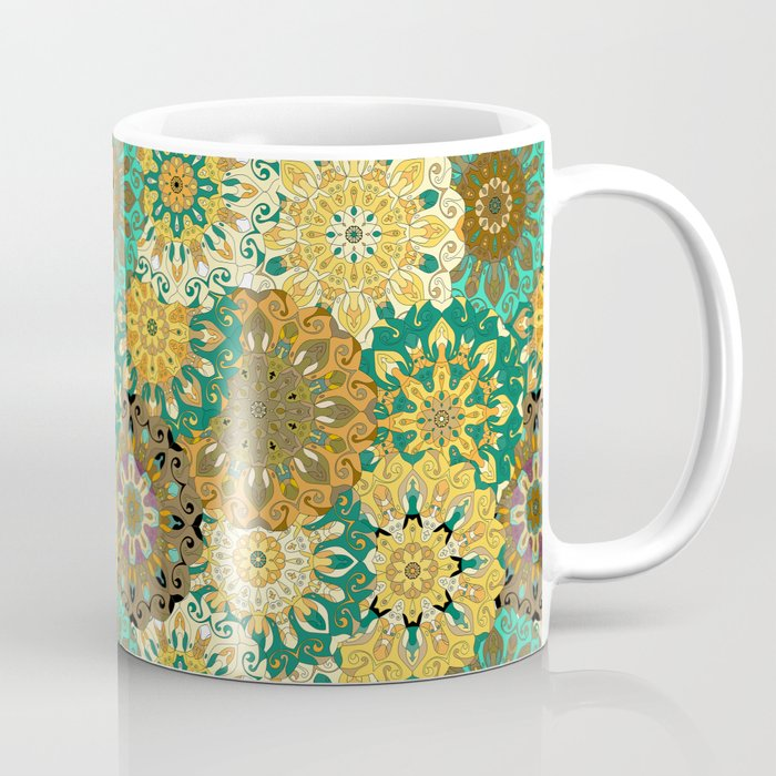 Boho Mandela Pattern 3 Coffee Mug