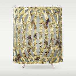 Golden L1 Shower Curtain