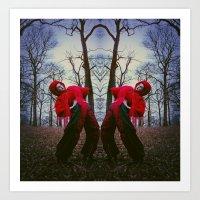 charmaine Art Prints featuring DoubleTrouble. by RavenBlakh