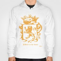 narnia Hoodies featuring King by John Choi King