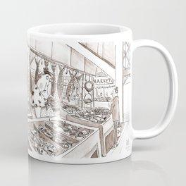 Fish Market Limerick Coffee Mug