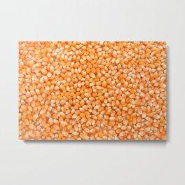 Popcorn maize Metal Print