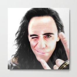 Loki - Ragnarok I Metal Print