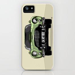 On my Way iPhone Case