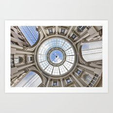 Eye of the World, Architecture Art Print, Architecture Canopy, passage, Occulus, Center of the Earth Art Print