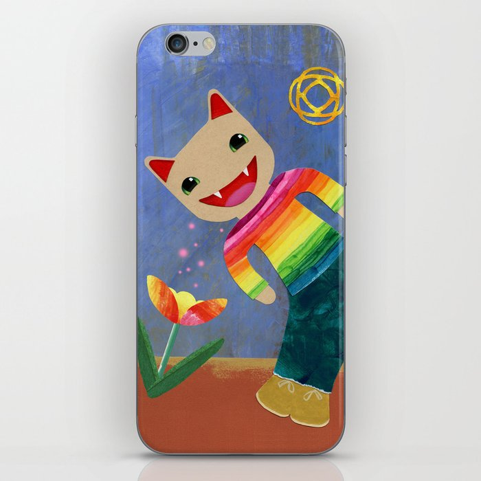 happiness spores iPhone Skin