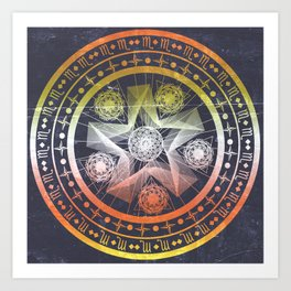 What's Your Sign Art Print