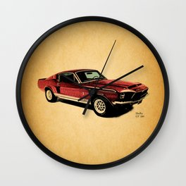 The Shelby GT 500 Wall Clock
