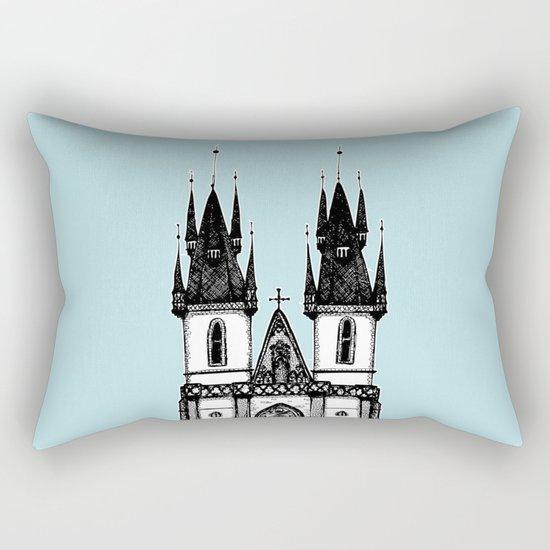 Tyn Church - Prague Rectangular Pillow