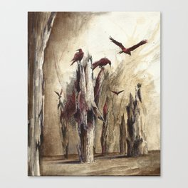 kuzgun Canvas Print