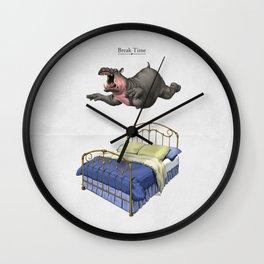 Break Time Wall Clock