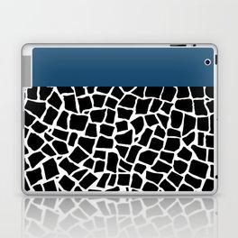 British Mosaic Navy Boarder Laptop & iPad Skin
